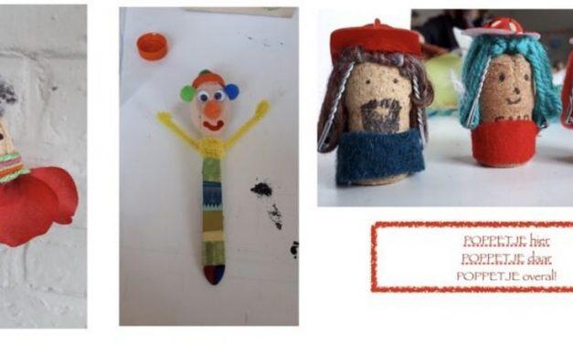 Knutseldagen voor kinderen tijdens de zomervakantie