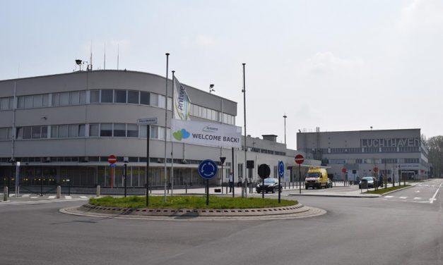 Covid-testcentrum op Luchthaven van Deurne