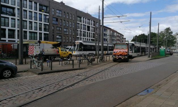 Defecte tram blokkeert lijnen 4 en 9
