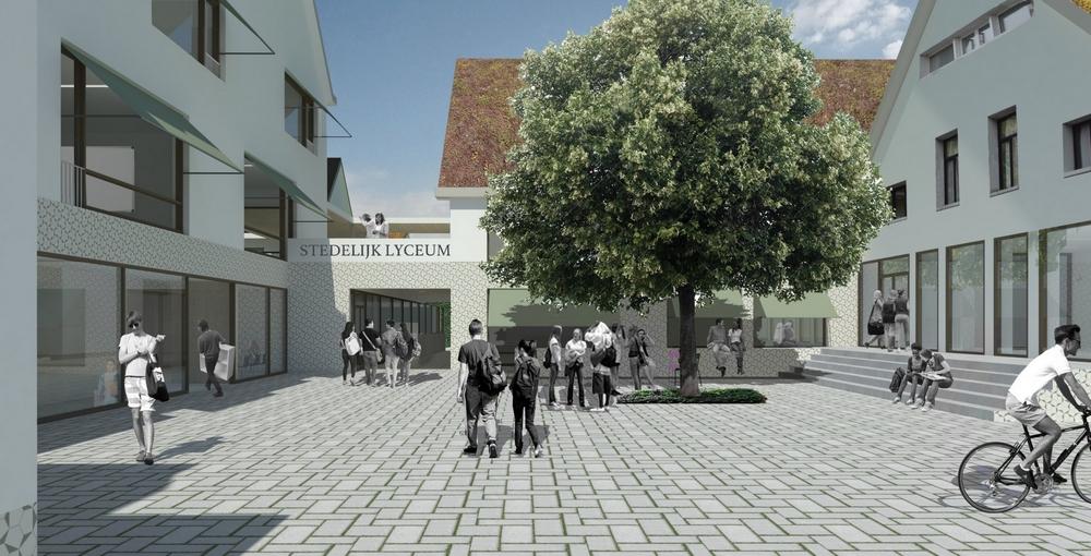 Twee nieuwe scholen in Deurne Noord