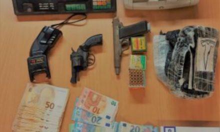 Drugs, geld en wapens in beslag genomen