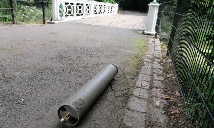 Onveilige situatie voor gietijzeren brug