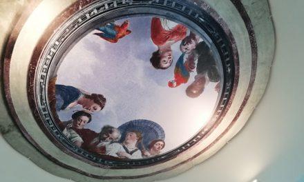 Monument krijgt historische plafondschildering terug
