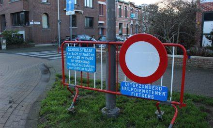 Proefproject met schoolstraat in Van den Hautelei