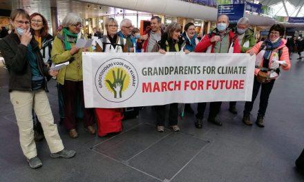 Stappen voor het klimaat: eerste voet op Britse bodem