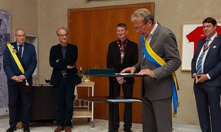 Deurnenaar Johan Van Bosch ontvangt titel 'Eredeken van de Arbeid'
